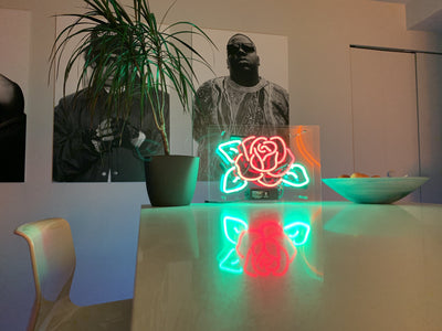 Rose Neon Sign