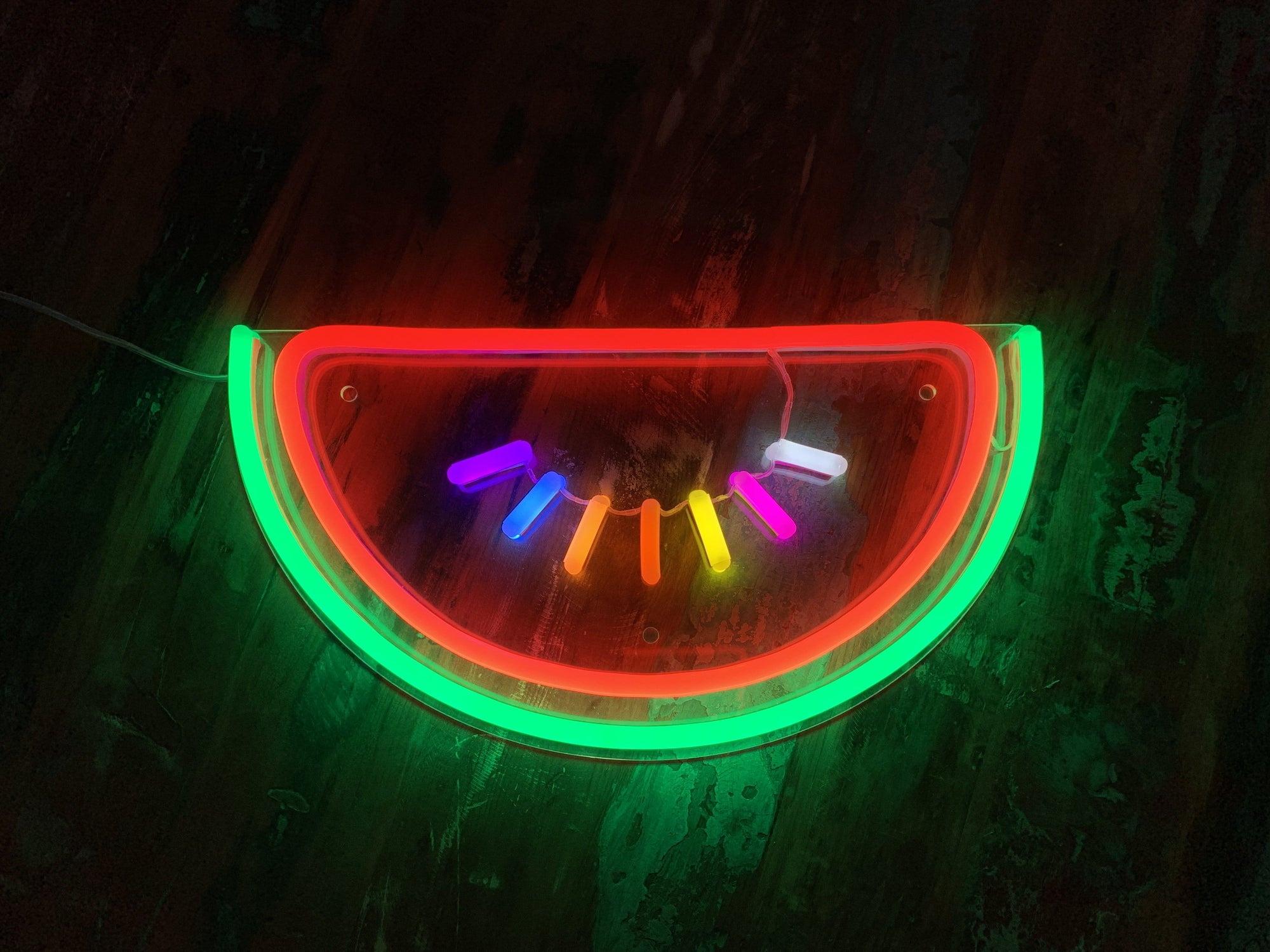 Watermelon LED Neon Sign