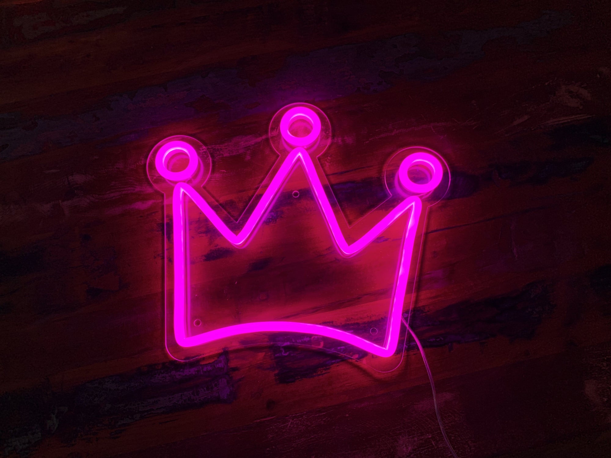 Crown LED Neon Sign