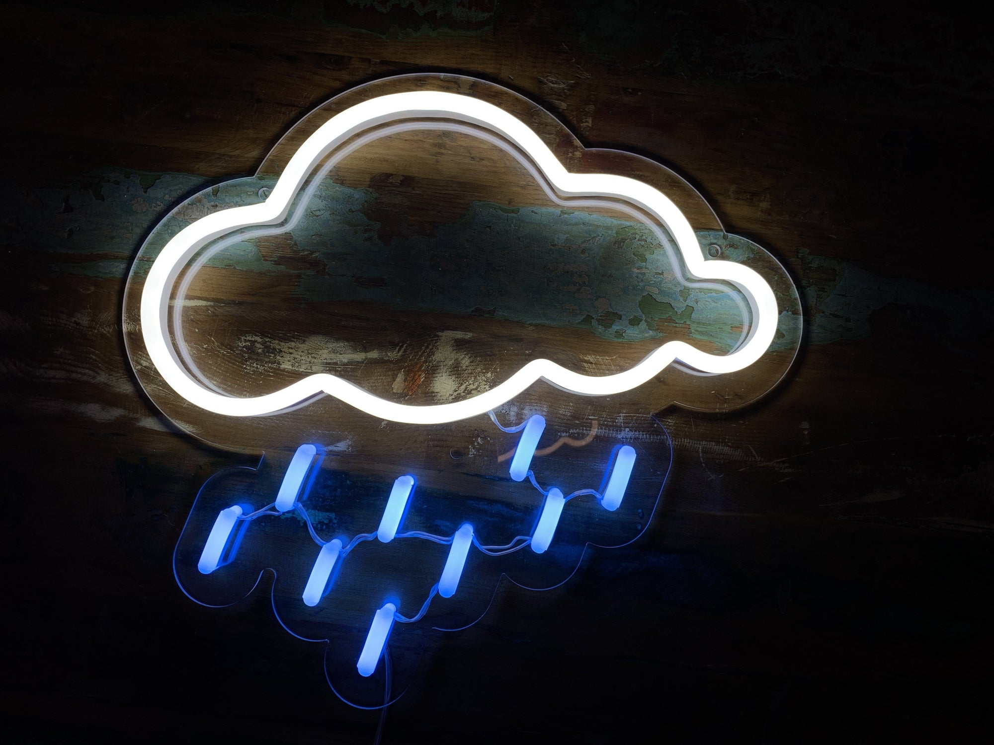 Rain Cloud LED Neon Sign