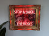 Stop & Smell The Roses Neon Sign Wall Mounted