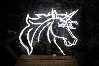 Unicorn Neon Sign Wall Mounted
