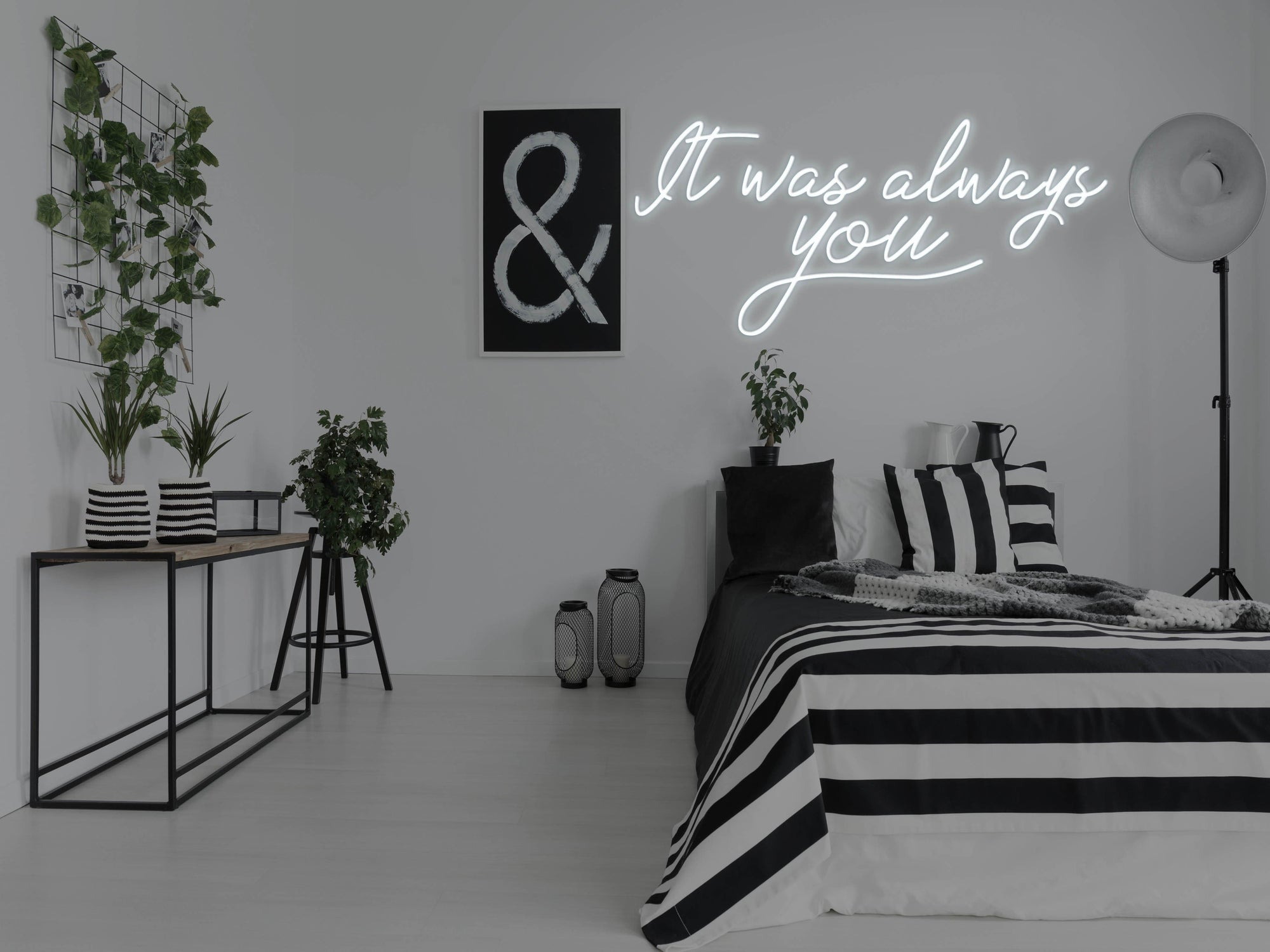 It Was Always You LED Neon Sign