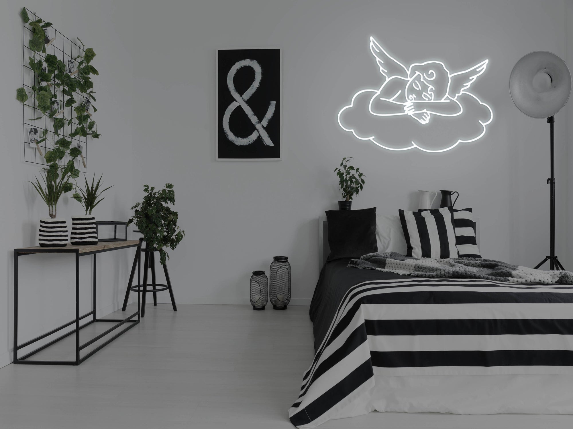 Angel LED Neon Sign