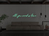 All you Need Is Love LED Neon Sign