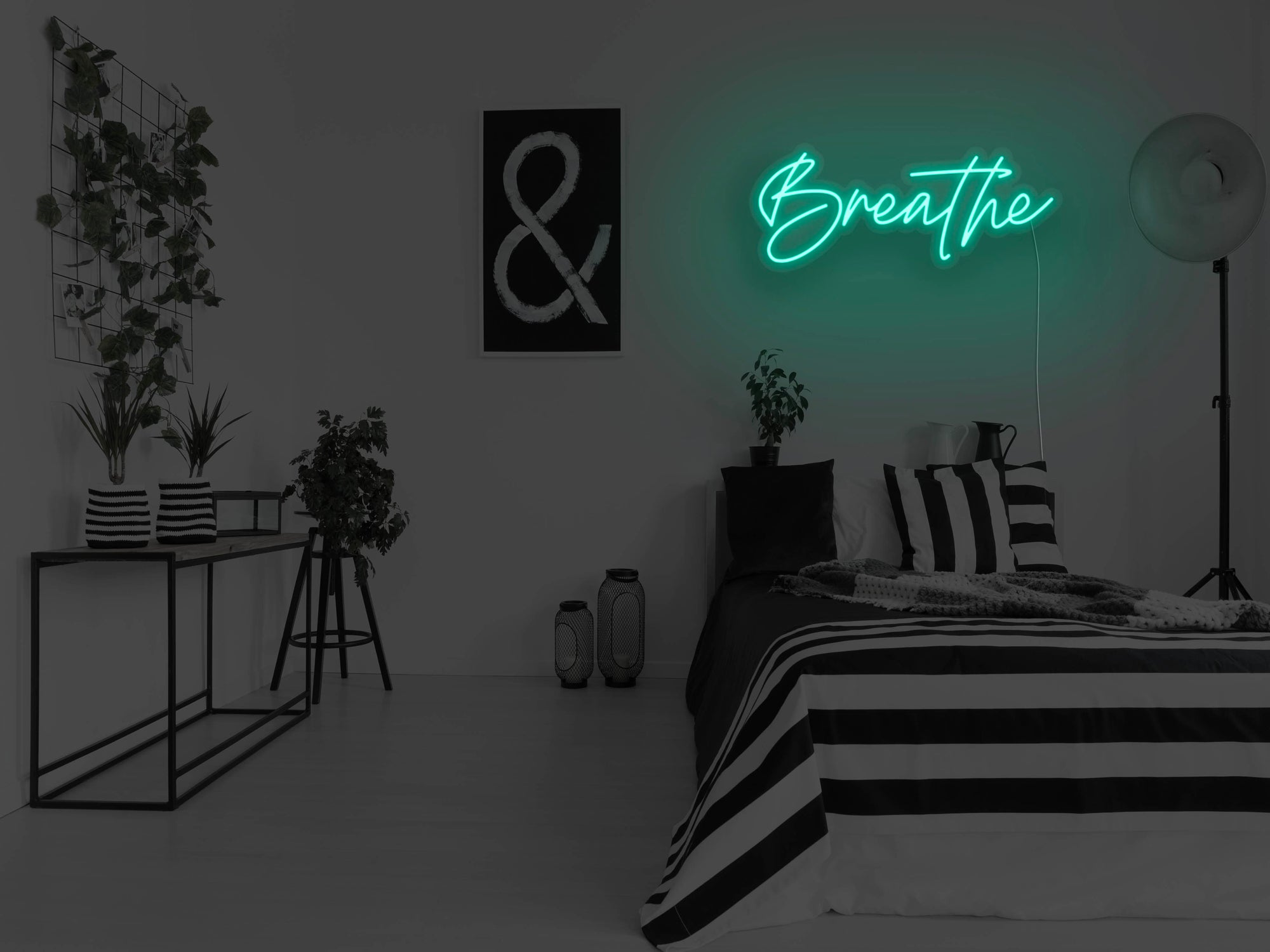 Breathe LED Neon Sign