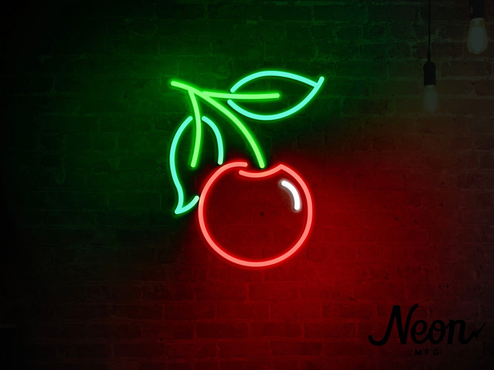 Cherry LED Neon Sign