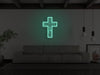 Crucifix LED Neon Sign