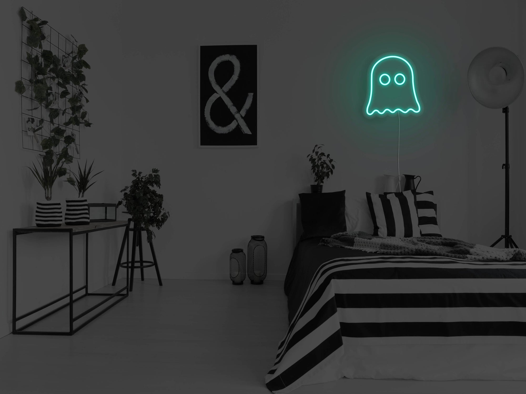 Ghost LED Neon Sign