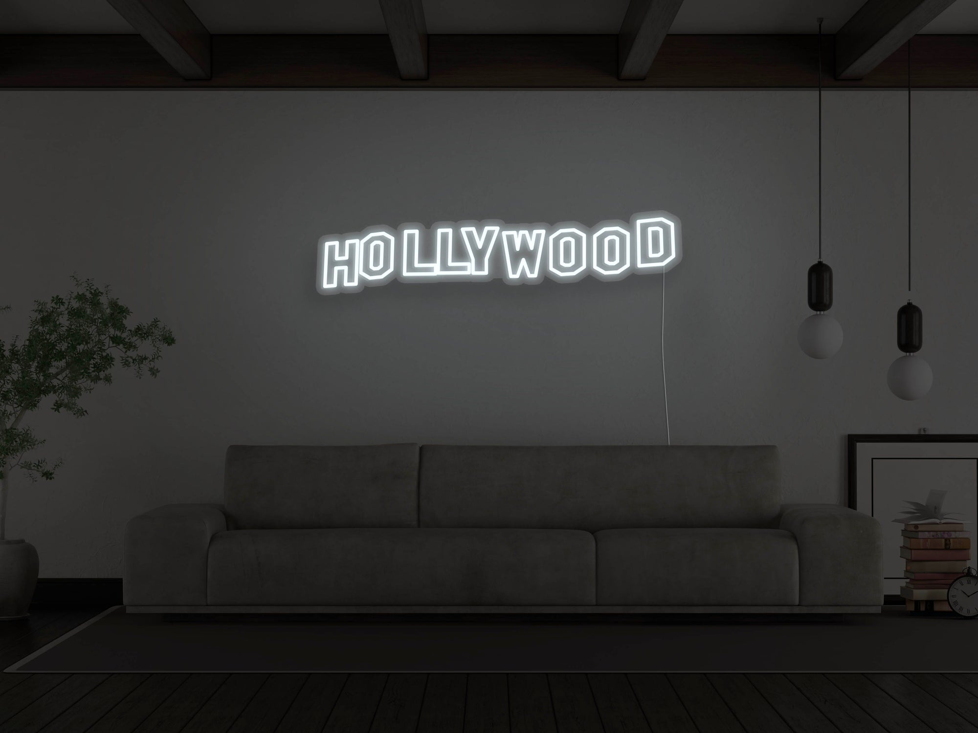 Hollywood Hills LED Neon Sign