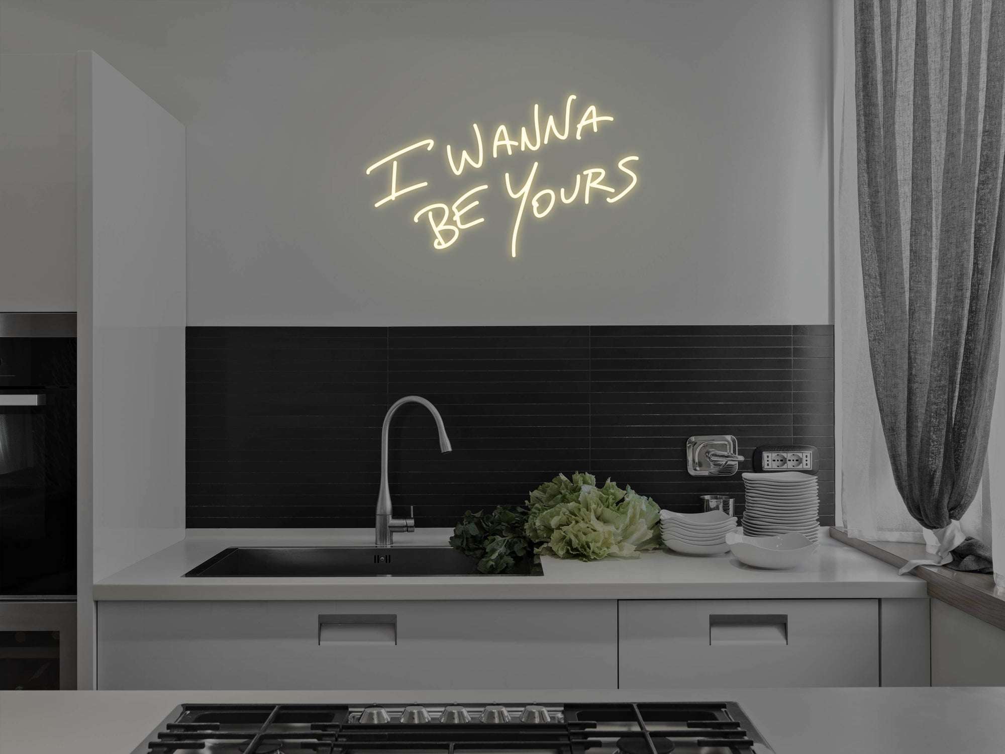 I Wanna Be Yours LED Neon Sign
