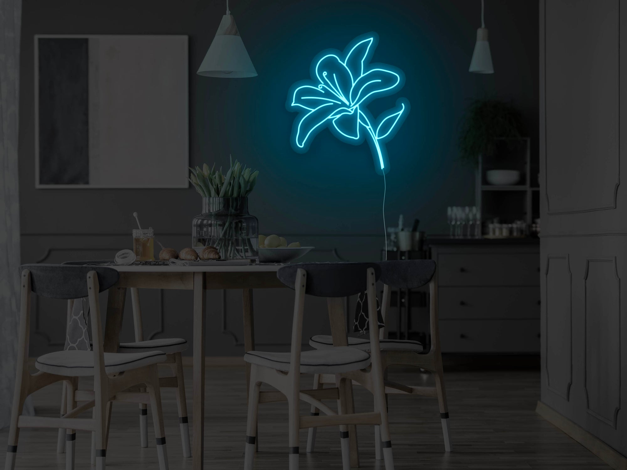 Lilly Version 2 LED Neon Sign