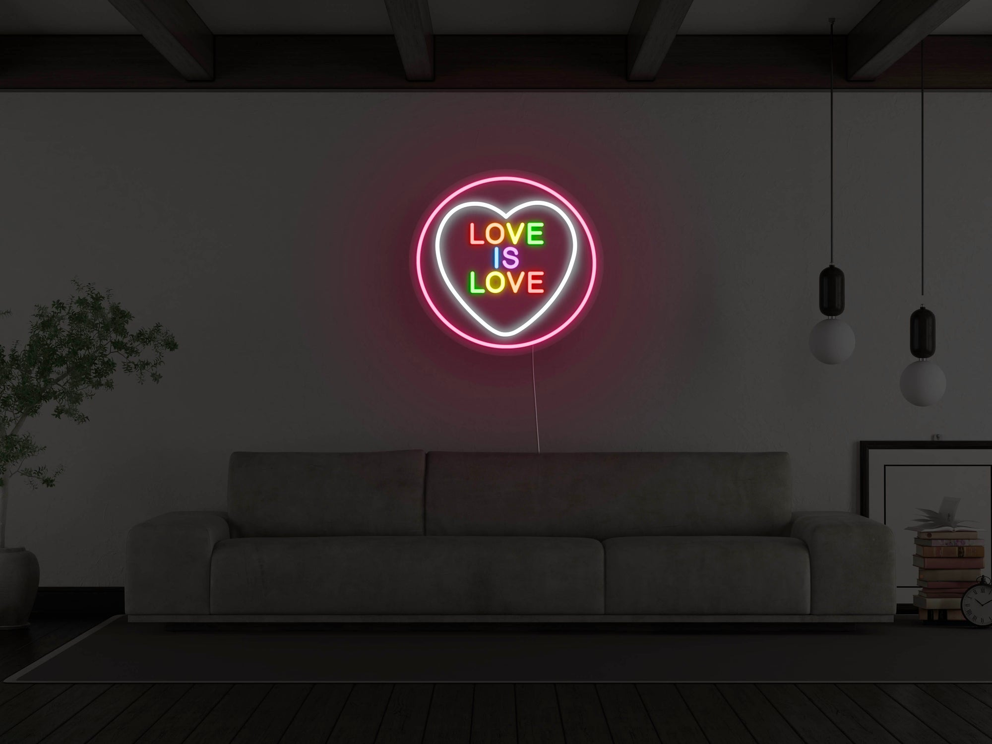 Love Is Love LED Neon Sign
