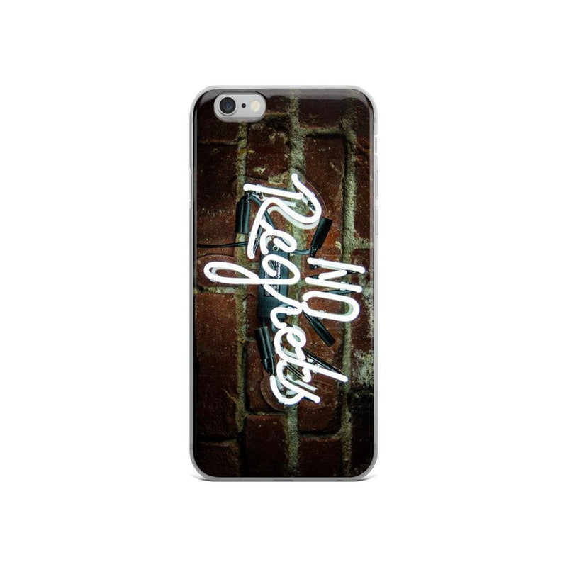 No Regrets iPhone Case