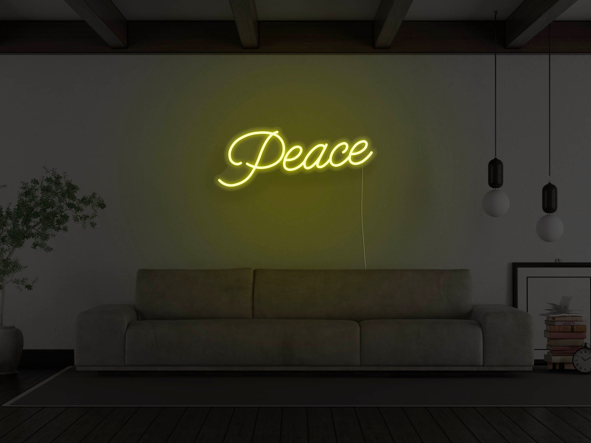 Peace LED Neon Sign