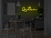 Queen LED Neon Sign