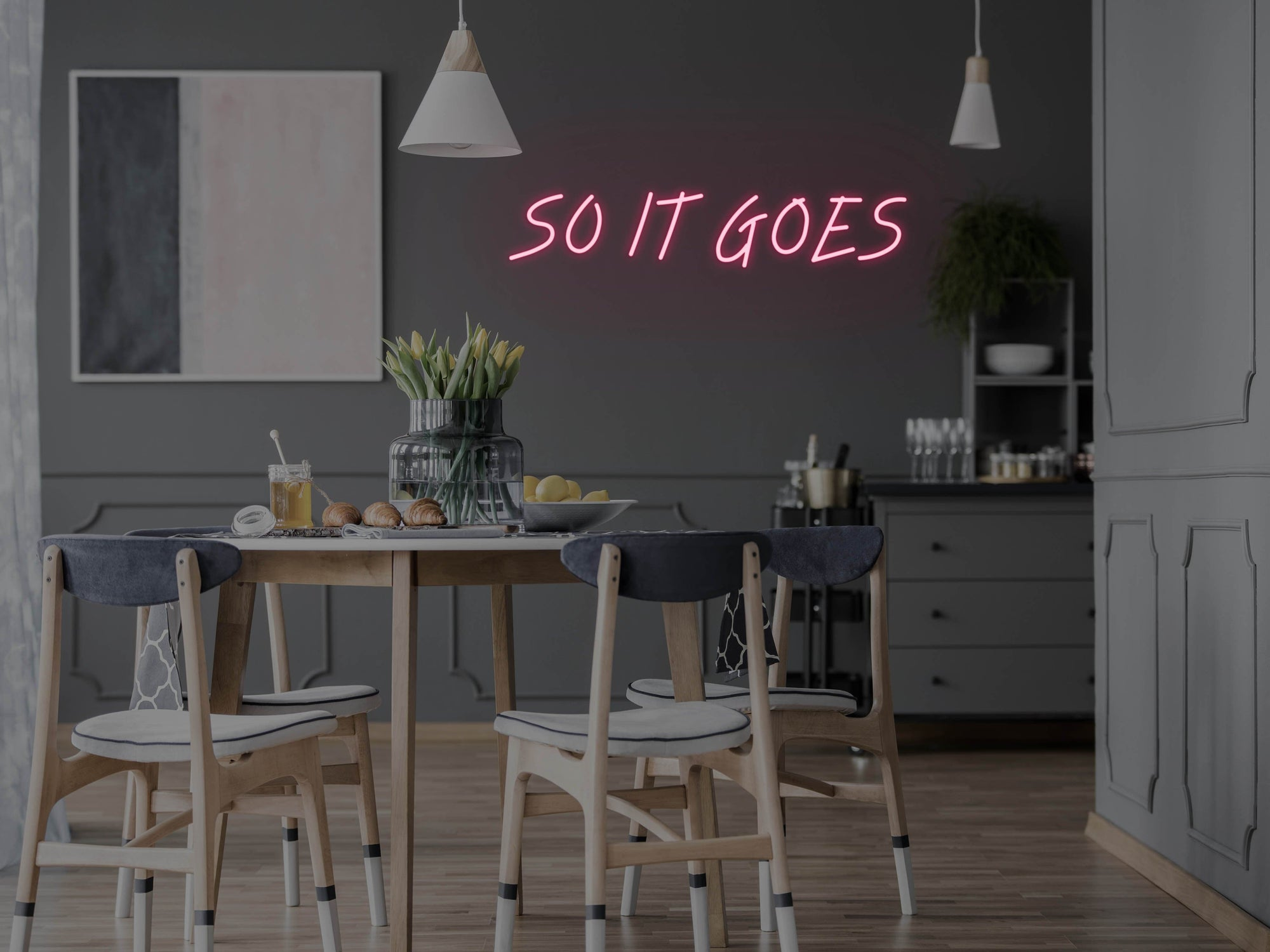 So It Goes LED Neon Sign