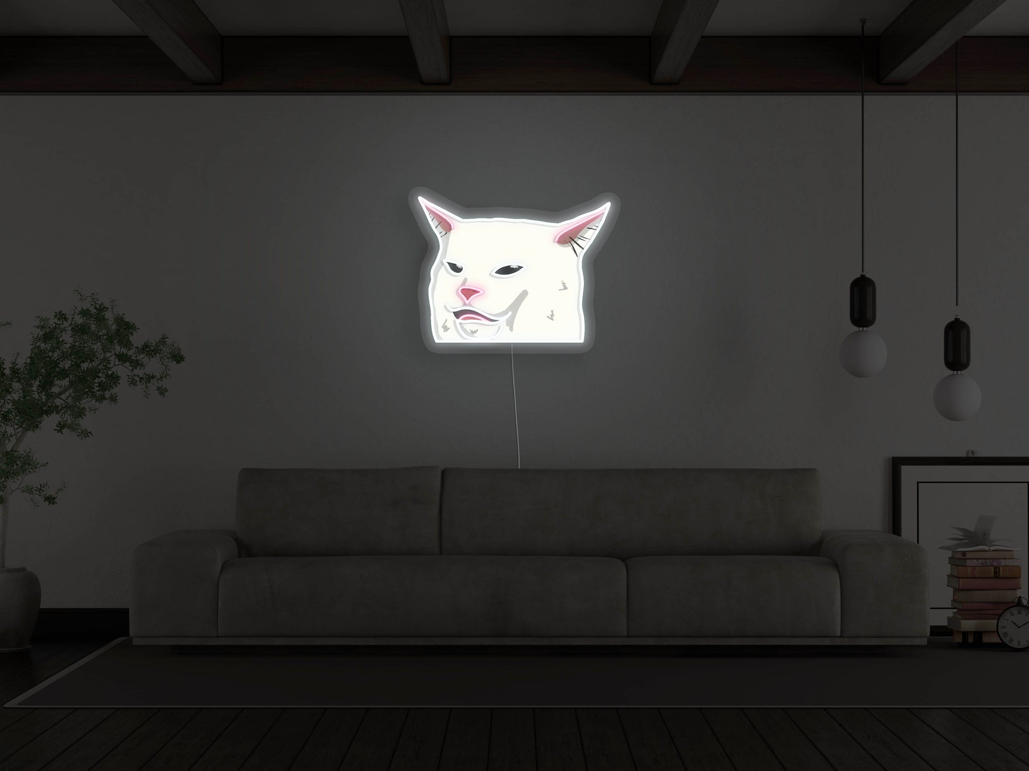 Smudge Lord LED Neon Sign