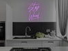 Stay Weird LED Neon Sign