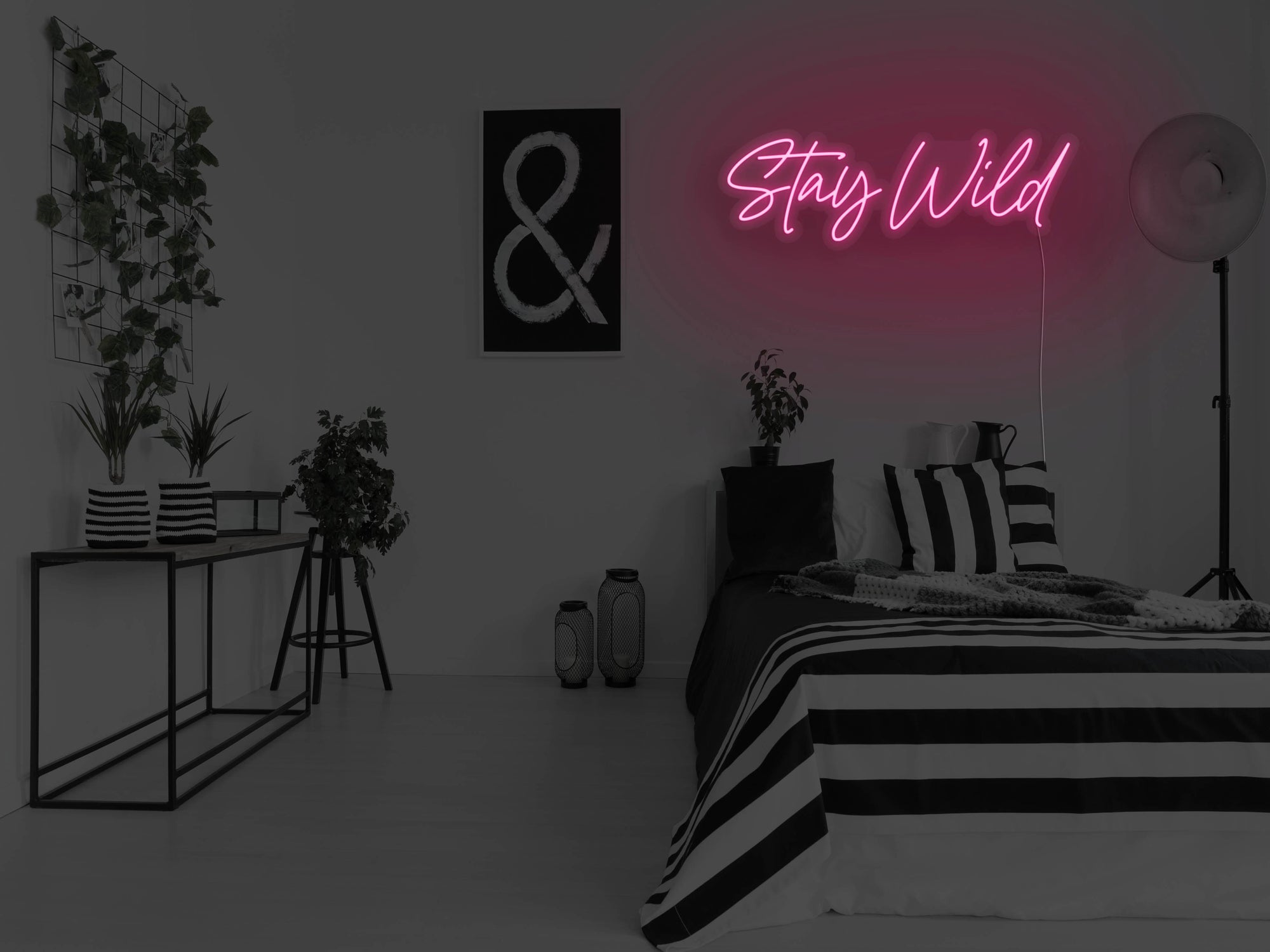 Stay Wild Version 2 LED Neon Sign