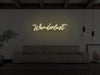 Wanderlust LED Neon Sign