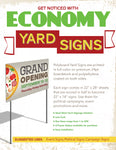 Economy 4mm Coroplast Signs