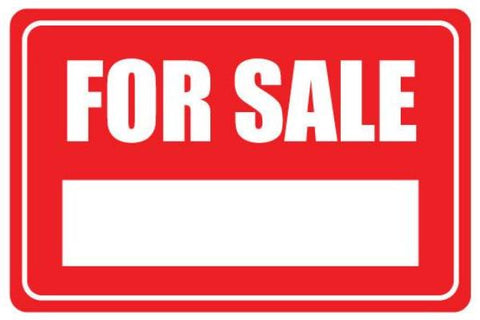 Fore Sale Yard Sign