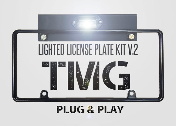 Lighted License Plate Kit V2