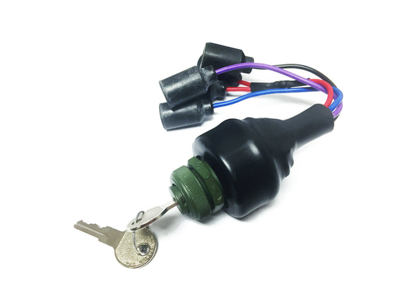 KEYED IN DASH IGNITION SWITCH  W/UNI BIT - 4 PLUG SWITCH