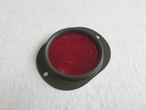 MILITARY REFLECTOR WITH BEZEL - RED