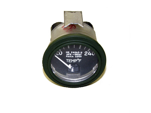 Temperature Gauge 120-240 F, MS24543-2