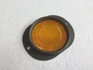 MILITARY REFLECTOR WITH BEZEL - AMBER