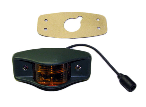Side Clearance Light (383-Green Housing), Amber 7261919-2 / MS35423-1