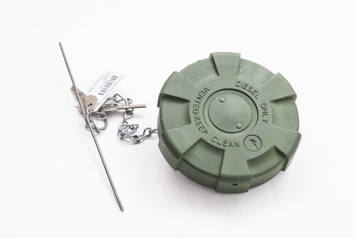 NEW LOCKING FUEL CAP FOR M939 and M35A3  TRUCKS (GREEN)