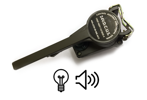 Turn Signal / Directional Signal lever Assembly with Light and Sound Indicator