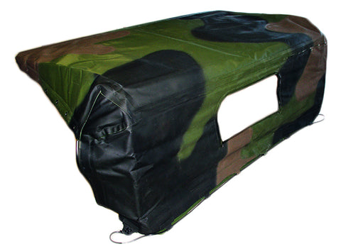 Cab Soft Top for M939 Series 5 Ton Trucks.  CAMO ONLY AT THE MOMENT