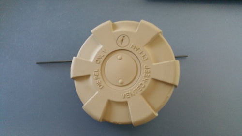 NEW LOCKING FUEL CAP FOR M939 AND M35A3 MILITARY TRUCKS (TAN)