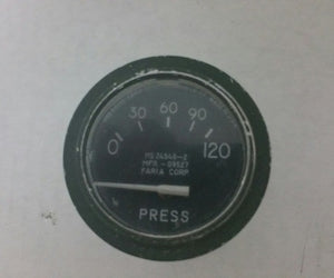 OIL PRESSURE 120PSI  (used)