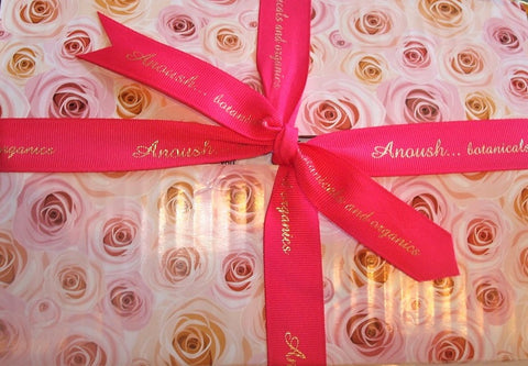 A Personal Care Boutique Rose Box Gift of A Baker's Dozen of Soap