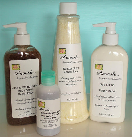 Anoush botanicals and organics Personal Care Set