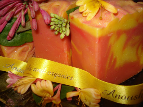 Anoush botanicals and organics Spa Soap Antoinette