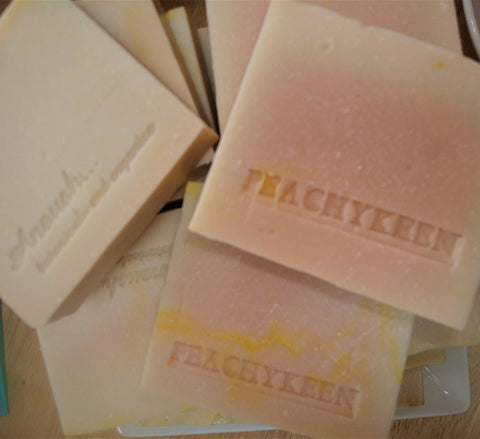 Anoush botanicals and organics Spa Soap Peachy Keen Bars