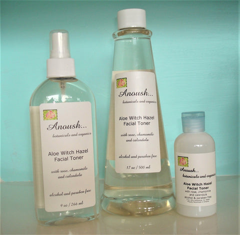 mist / toner ~ aloe witch hazel