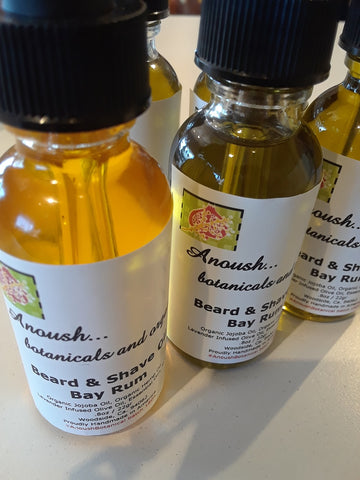 beard & shave oil ~ bay rum