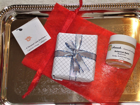A Personal Care Boutique Gift Set Balm Soap