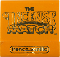 Incense Match french vanilla
