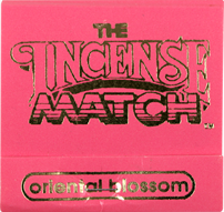 Incense Match oriental blossom