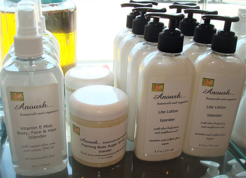 Anoush botanicals and organics Islander Set