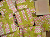 Anoush botanicals and organics Spa Soap Peachy Keen Bars gift wrapped