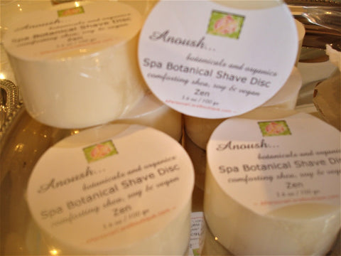 Anoush... botanicals and organics shave soap zen